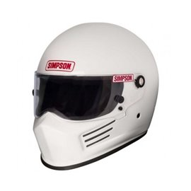SIMPSON 6200021F-M BANDIT helmet size M white