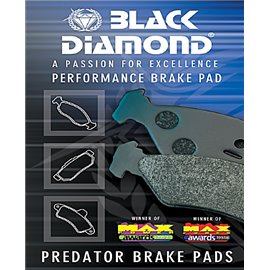 Black Diamond PREDATOR Fast Road brake pads PP1009