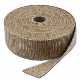 "ThermoTec 1"" X 15' EXHAUST WRAP (SHORT ROLLS)"
