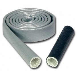 "ThermoTec HEAT SLEEVES 1"" X 10' SILVER"