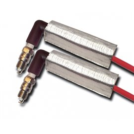 ThermoTec 2-DUAL LAYER PLUG WIRE HEAT SHIELD