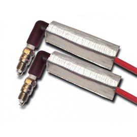 ThermoTec 2-DUAL LAYER PLUG WIRE HEAT SHIELD
