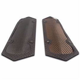 "ThermoTec CARBON FIBER PIPE SHIELD - 3.75"" x 11.75""  W/ CLAMPS"