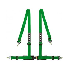 TRS Clubman 4 Point  street harnesses GREEN