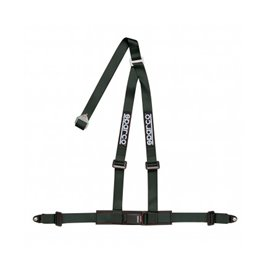 SPARCO street harnesses 2 INCH 3PT BOLT-IN BLACK