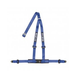 SPARCO street harnesses 2 INCH 3PT BOLT-IN BLUE
