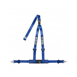 SPARCO 2 INCH 3PT DBL REL BLUE