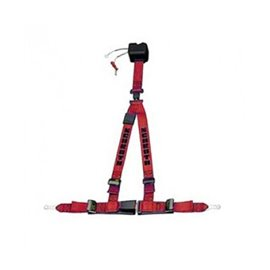 Schroth street harnesses ASM Autocontrol II RED LEFT