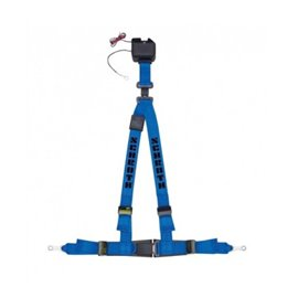 Schroth street harnesses ASM Autocontrol II BLUE RIGHT