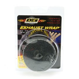 Design Engineering Black Glass Fiber Exhaust Wrap 50mm x 4,5m