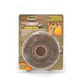 Design Engineering Titanium??? Exhaust Wrap 50mm x 4,5m
