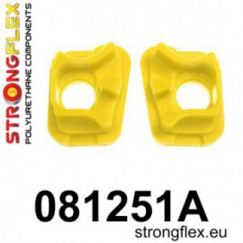 StrongFlex 081251A: Engine front mount inserts SPORT (Honda)