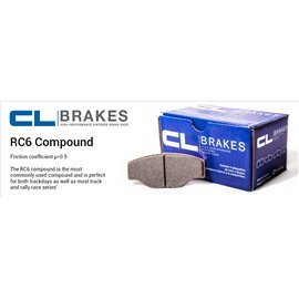 CL Brakes brake pad set 4014T16,5 RC6