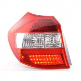 Led Rear lights BMW serie 1 type E87 5-door Yr. 04-07 clear/red