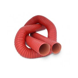 SFS double layer high temperature ducting 76mm length 1m