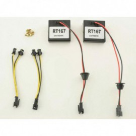 control units for LED rear lights fit for VW Scirocco 3 (type 13) Yr. 08-