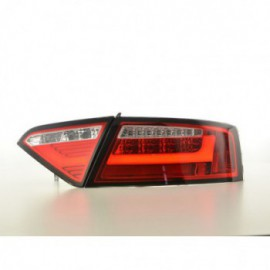 LED rear lights Lightbar Audi A5 8T Coupe/Sportback Yr. 07-11 red/clear