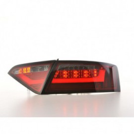 LED rear lights Lightbar Audi A5 8T Coupe/Sportback Yr. 07-11 red/black