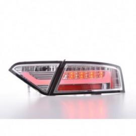 LED rear lights Lightbar Audi A5 8T Coupe/Sportback Yr. 07-11 chrome