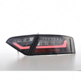 LED rear lights Lightbar Audi A5 8T Coupe/Sportback Yr. 07-11 black