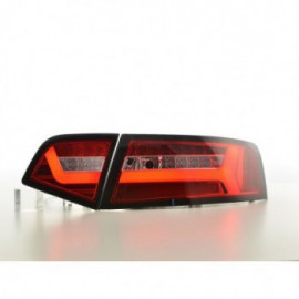 LED rear lights Audi A6 4F saloon Yr. 08-11 red/clear