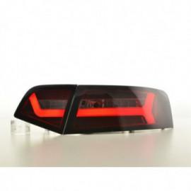 LED rear lights Audi A6 4F saloon Yr. 08-11 red/smoke