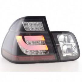 Led Rear lights BMW serie 3 E46 saloon Yr. 98-01 black