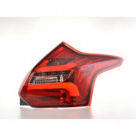 LED rear lights Ford Focus 3 hutchback Yr. 11-14 red/clear