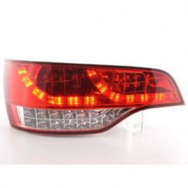 Led rear lights Audi Q7 Typ 4L Yr. 06- clear/red