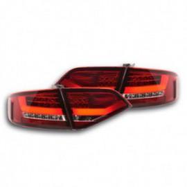Led rear lights Audi A4 B8 8K saloon Yr. 07-11 red/clear