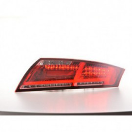 LED rear lights Audi TT 8J Yr. 06-14 red/clear