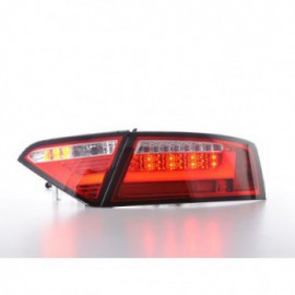 LED rear lights Lightbar Audi A5 8T Coupe/Sportback year 07-11 red/clear