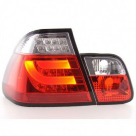 Led rear lights BMW serie 3 E46 saloon Yr. 02-05 red/clear