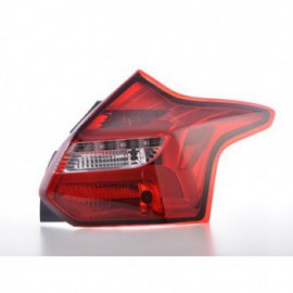 CG Toyota 4 Runner 01-02 LED Tail Light Red//Clear