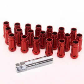 Japan Racing Forged Steel Japan Racing Nuts JN4 12x1,5 Red
