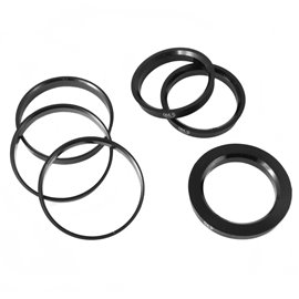 Japan Racing set of 4 x Hub Rings 76,1-58,1