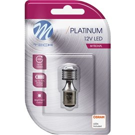 LB812W 12V BAY15D LED PIRN 3,5W P21/5W PLATINUM BLISTER 1TK (OSRAM LED) M-TECH