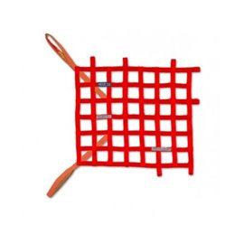 SPARCO window net FIA RED