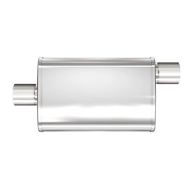 """MagnaFlow 4"""" X 9"""" Oval Center/Offset XL Multi-Chamber Performance Muffler IN 2"""" OUT 2"""""""