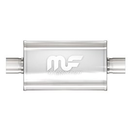 """MagnaFlow 5"""" X 8"""" Oval Center/Center Straight Through Performance Muffler IN 3,5"""" OUT 3,5"""""""