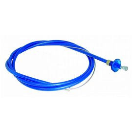 BLUE THROTTLE CABLE 4ft (1.3 Mtr) with nylon inner liner