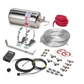 SPARCO 014772EXL Ultra-light, electrically activated extinguisher system.