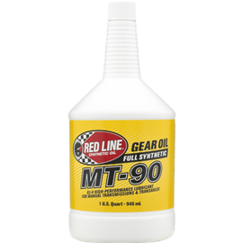 Red Line Oil MT-90 75W90 GL-4 GEAR OIL 946ml (1 US quart)