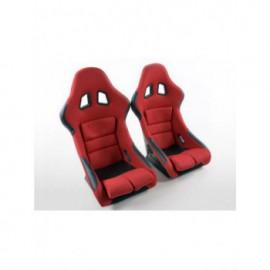 Sportseat Set Edition 2 fabric red /