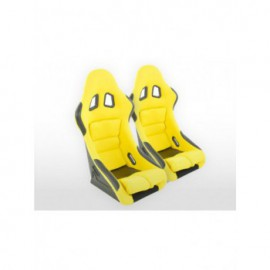 Sportseat Set Edition 2 fabric yellow