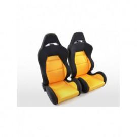 Sportseat Set Edition 3 fabric yellow/black