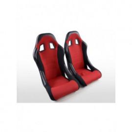 Sportseat Set Edition 4 fabric red /