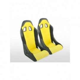 Sportseat Set Edition 4 fabric yellow