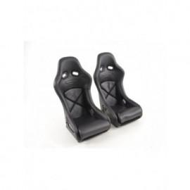 Sport Seats full bucket seat set with back shell made of fiberglass