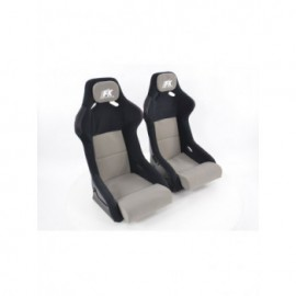 FK sport seat full bucket seat  set Evolution with  with fibreglass cover